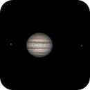 Jupiter and two little friends,                                Daniel Leclerc