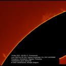 Solar prominences, ASI290MM, 20200519,                                Geert Vandenbulcke