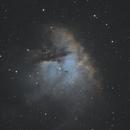NGC281 - PacMan Nebula,                                Jim Morse