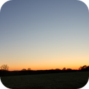 Sonnenuntergang bei klarem Himmel,                                Sven Hendricks
