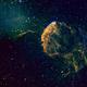 Jellyfish Nebula in Hubble palette SHO,                                Mike