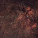 Gamma Cygni Nebula Sadr region,                                aalbi
