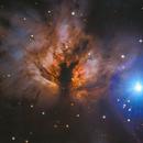 NGC 2024 - Flame Nebula,                                Carlo Caligiuri