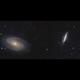M81 - M82 Mosaic,                                stricnine