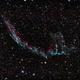 Eastern Veil Nebula,                                Trace