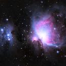 M42 - Orion Nebula,                                Matt Baker