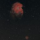 Monkey Head Nebula wide angel,                                James R Potts