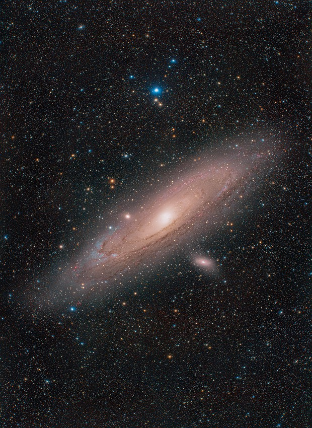 Andromeda Galaxy,                                Johannes Bock