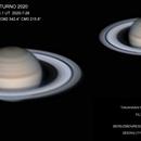 Saturno 2020-7-26  22:51,1 UT,                                ortzemuga