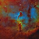 Elephant Trunk Nebula - SHO-LRGB,                                equinoxx
