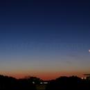 Moon and Venus Conjunction Panorama,                                Giuseppe Petricca