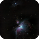 Messier 42, 43 and Running Man nebula, unguided,                                Alexander Sorokin