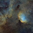 SH 2-101 Tulip Nebula SHO,                                Asgartt