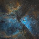 Eta Carina Nebula in Hubble Palette,                                Henry Kwok