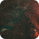 Vela Supernova Remnant with NGC2736 - Herschel's Ray,                                Stuart Markus