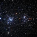 Double Cluster -  NGC 869 and NGC 884,                                Greg Polanski