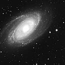 M81 luminance full frame,                                brucev