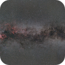 Practicing mosaic with the Milky Way,                                David