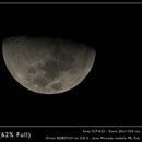 Waxing Gibbous Moon,                                José Miranda
