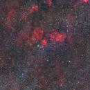 The Bubble Nebula, SH2-162 (NGC-7635) WIDEFIELD,                                Nasdaq76