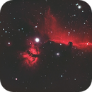 The Horsehead and Flame Nebula,                                Lucas Maguire