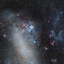 Tarantula Nebula Nestled in Large Magellanic Cloud,                                Tom Peter AKA Astrovetteman