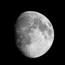 Waxing Gibbous Moon,                                Darien Perla