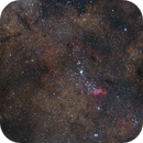 Prawn Nebula, False Comet and others,                                Jacek Bobowik