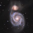 M51 Whirlpool Galaxy,                                Denis Dumas