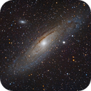 M31 (with a telescope this time),                                dkamen