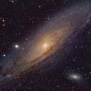 Andromeda - LHaRGB Enhanced,                                Jon Rista