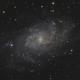 M 33 , galaxie du triangle,                                echosud