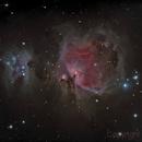 First Light Ts triplet 102  Orione M42-43 test ,                                Emanuele Patassini