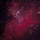 M16 The eagle nebula,                                Aaron