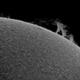 Sun protuberation ,                                Łukasz Sujka
