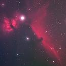 Flame and Horsehead Nebula,                                ArioN