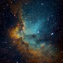 NGC 7380 - Wizard Nebula NB,                                akleffner