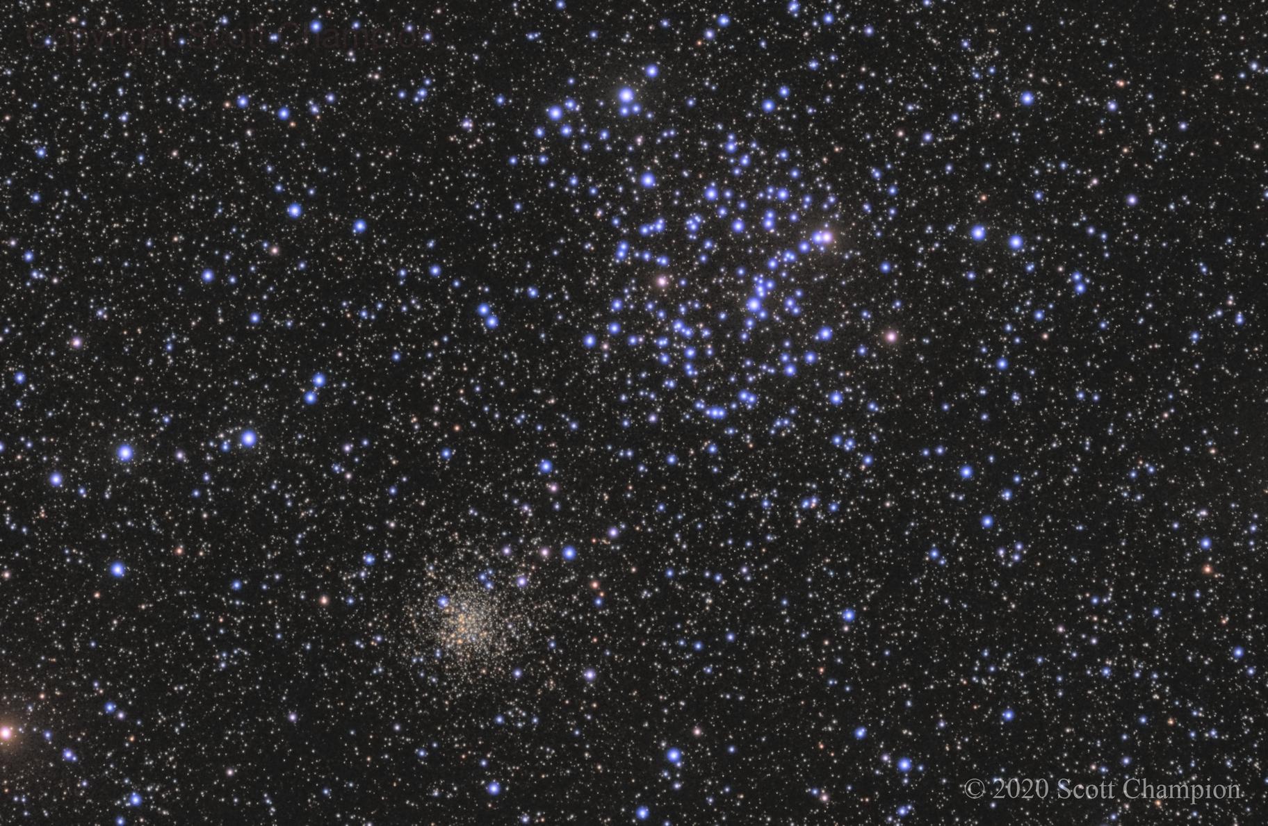 M35 and NGC 2158,                                Scott