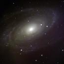 Colorful Bode's M81,                                astrobrad