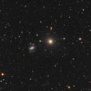 NGC 5850 and NGC 5846,                                Phil Brewer