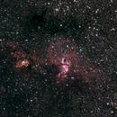 NGC3576 / Statue of Liberty,                                KiwiAstro