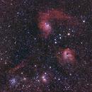 Nebula in the constellation Auriga,                                Sergej Kopysov