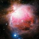 Great Orion Nebula - RGB Filters,                                David Payne