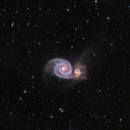Whirlpool Galaxy,                                Jeff Signorelli