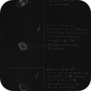 M27, M57, NGC 6888 , first attempts in astronomical drawing, final,                                Matthias Bogner