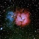 M20, The Trifid Nebula,                                Patrick Graham