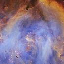 Details in Running Chicken Nebula IC2944,                                Christian_Hilbert