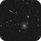 Holmberg 124 ( NGC2805, NGC2814, NGC2820 Galaxies ),                                Serge
