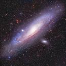 Andromeda Galaxy,                                Dean Salman