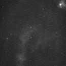 Sh2-205 Ha 4 pane mosaic with NGC1491,                                Steve Ibbotson